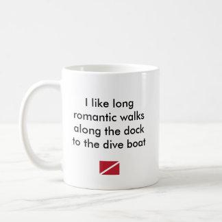 I Like Long Romantic...Dive Boat Coffee Mug