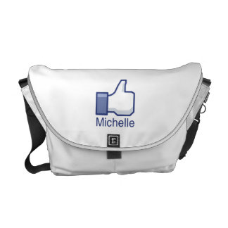I LIKE MICHELLE.png Messenger Bag