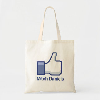I LIKE MITCH DANIELS BUDGET TOTE BAG