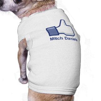 I LIKE MITCH DANIELS DOGGIE SHIRT