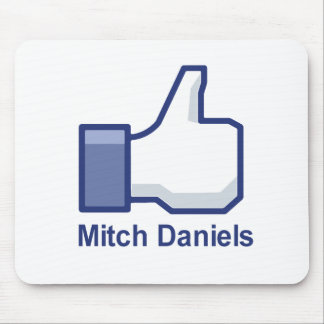 I LIKE MITCH DANIELS MOUSE PAD
