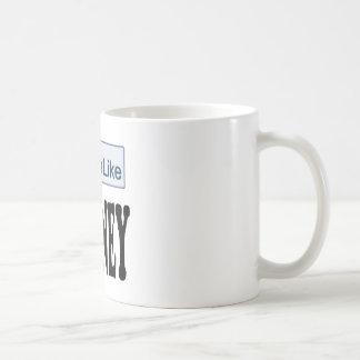 I Like Mitt Romney President 2012 Classic White Coffee Mug