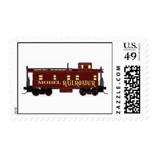 I Like Model Railroads Stamp