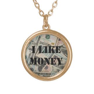 I Like Money Necklace