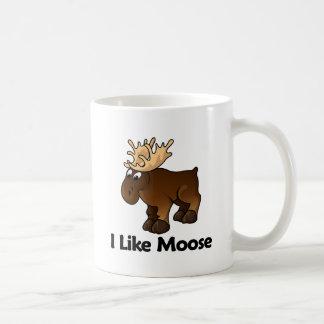 I Like Moose Coffee Mugs