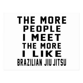 I like More Brazilian Jiu-Jitsu Postcards