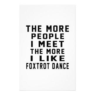 I like More Foxtrot Stationery