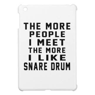 I Like More Snare drum iPad Mini Cover