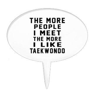 I like More Taekwondo Cake Toppers