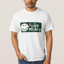 I Like Mt. Airy (Breast Cancer Edition) T-Shirt