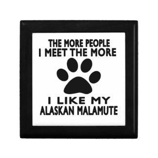 I like my Alaskan Malamute. Jewelry Box
