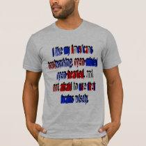 I Like My Americans T-Shirt
