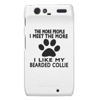 I like my Bearded Collie Motorola Droid RAZR Cases