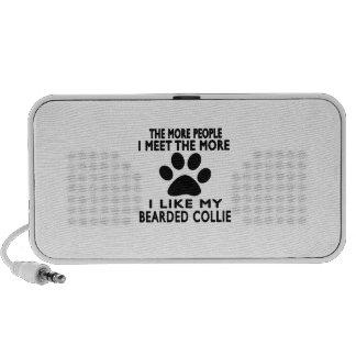I like my Bearded Collie Notebook Speakers