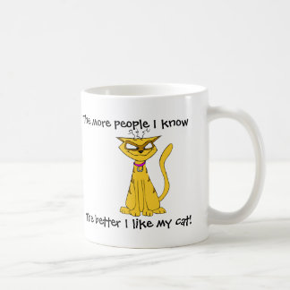 I like my cat Mug
