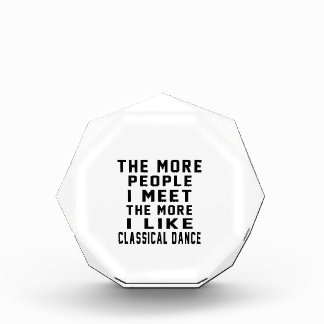 I like my Classical Dance Acrylic Award