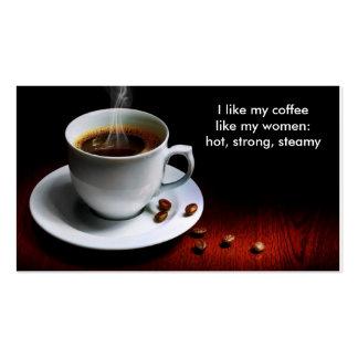I Like My Coffee Business Card