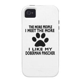 I like my Doberman Pinscher. Case-Mate iPhone 4 Cover