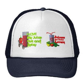 I like my juice trucker hats