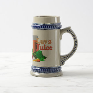 I like my juice hot & spicy beer stein