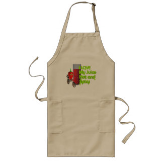 I like my juice hot & spicy long apron