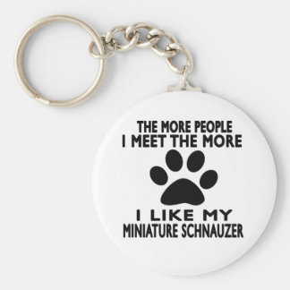 I like my Miniature Schnauzer. Keychain