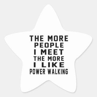 I like my Power Walking. Stickers