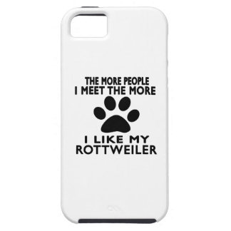 I like my Rottweiler. iPhone 5 Cover