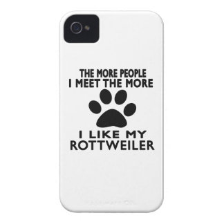 I like my Rottweiler. iPhone 4 Cases
