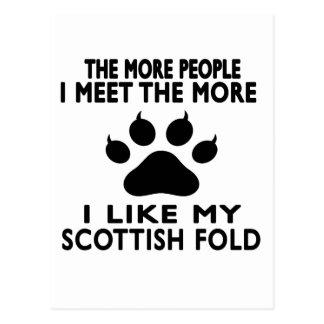 I like my Scottish Fold. Postcards