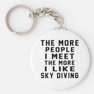 I like my Sky diving. Key Chains