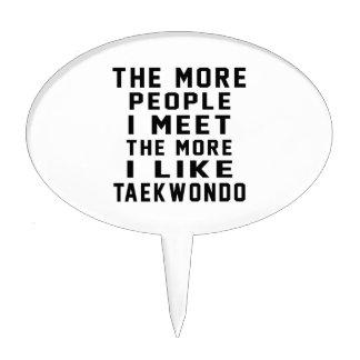 I like my Taekwondo. Cake Picks