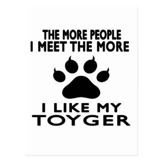 I like my Toyger. Postcard