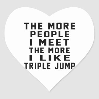 I like my Triple jump. Heart Sticker