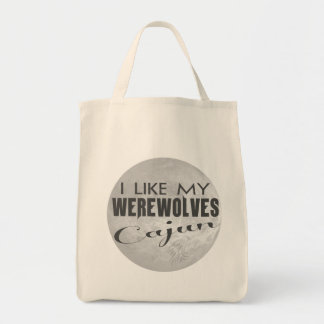 I Like My Werewolves Cajun Organic Bag