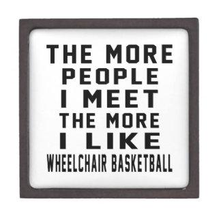 I like my Wheelchair Basketball. Premium Trinket Box