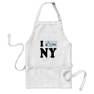 I Like New York NY Love Adult Apron