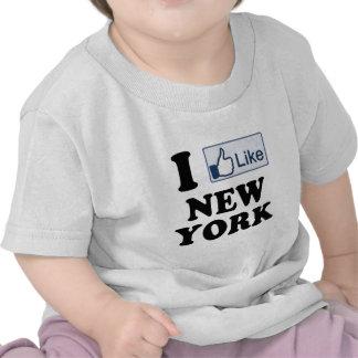 I Like New York NY Love Shirt