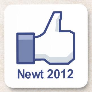 I LIKE NEWT 2012 BEVERAGE COASTERS