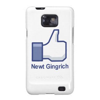 I LIKE NEWT GINGRICH GALAXY S2 COVER