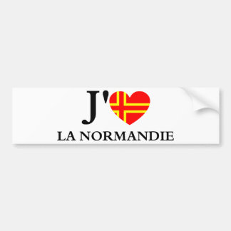 I like Normandy Bumper Sticker