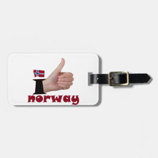 I Like Norway Tag For Bags