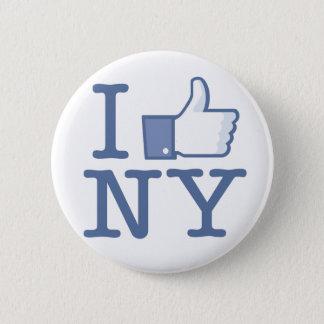 I Like NY Pinback Button