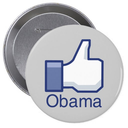 I LIKE OBAMA 4 INCH ROUND BUTTON