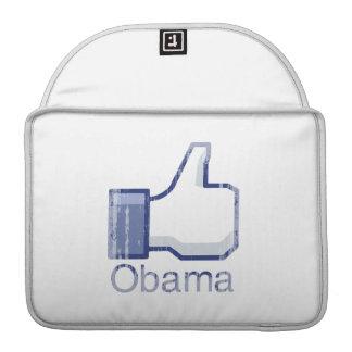 I LIKE OBAMA Vintage.png Sleeve For MacBook Pro