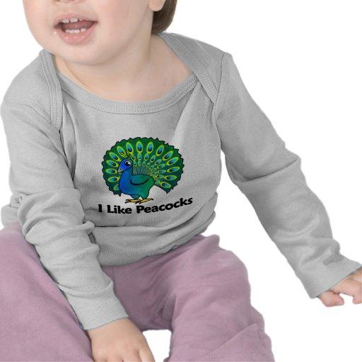 I Like Peacocks T-shirt