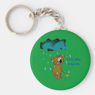 I Like Peeing In The Rain Keychain