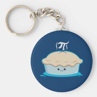 I Like Pi Basic Round Button Keychain