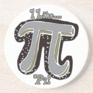 I Like Pi Day Drink Coaster