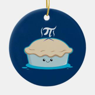 I Like Pi Double-Sided Ceramic Round Christmas Ornament